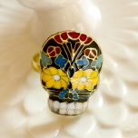Resizeable Sugar Skull Ring