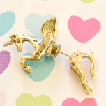 Unicorn Horse Stud Earring