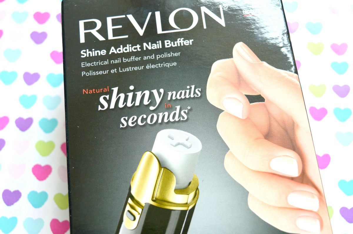 Revlon Shine Addict Nail Buffer Review – Raspberrykiss