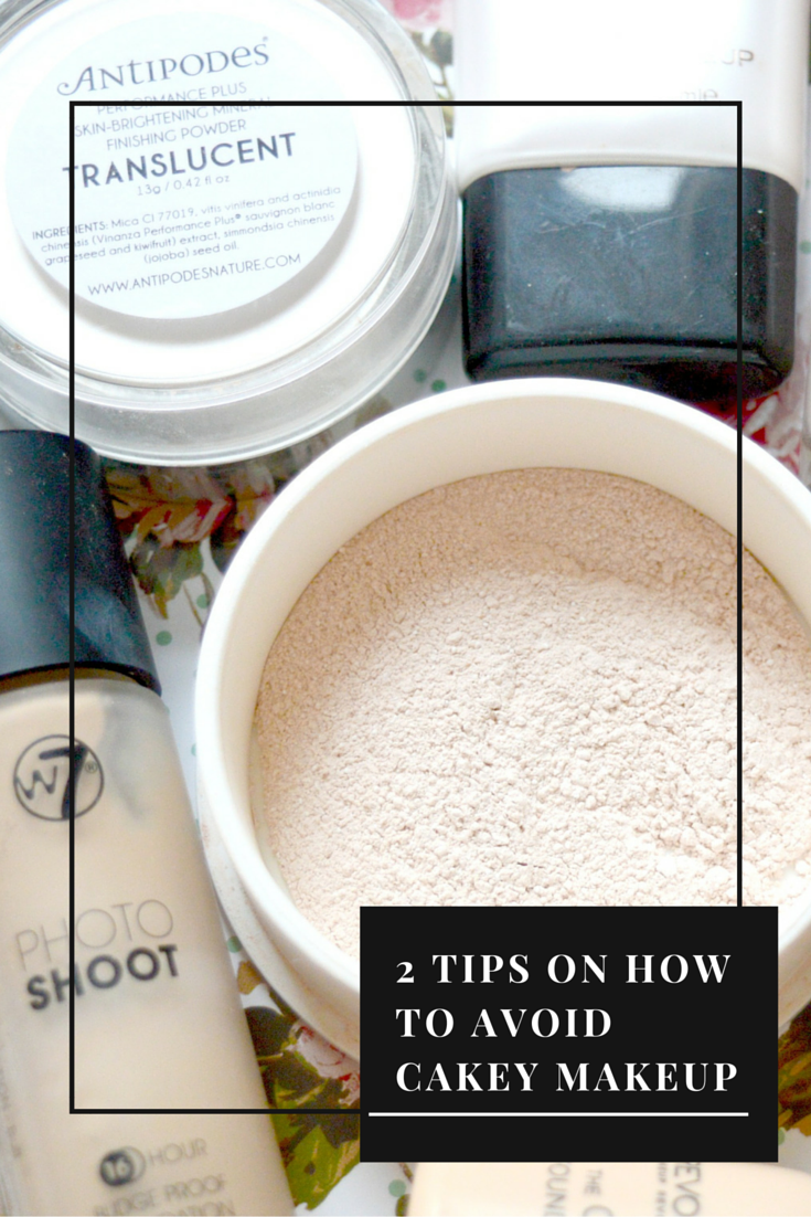 2 Tips On How To Avoid Cakey Makeup