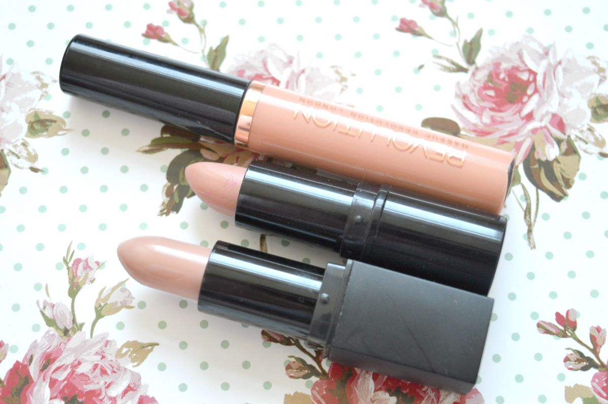 3 Pretty Nude Lipsticks For Pale Skin