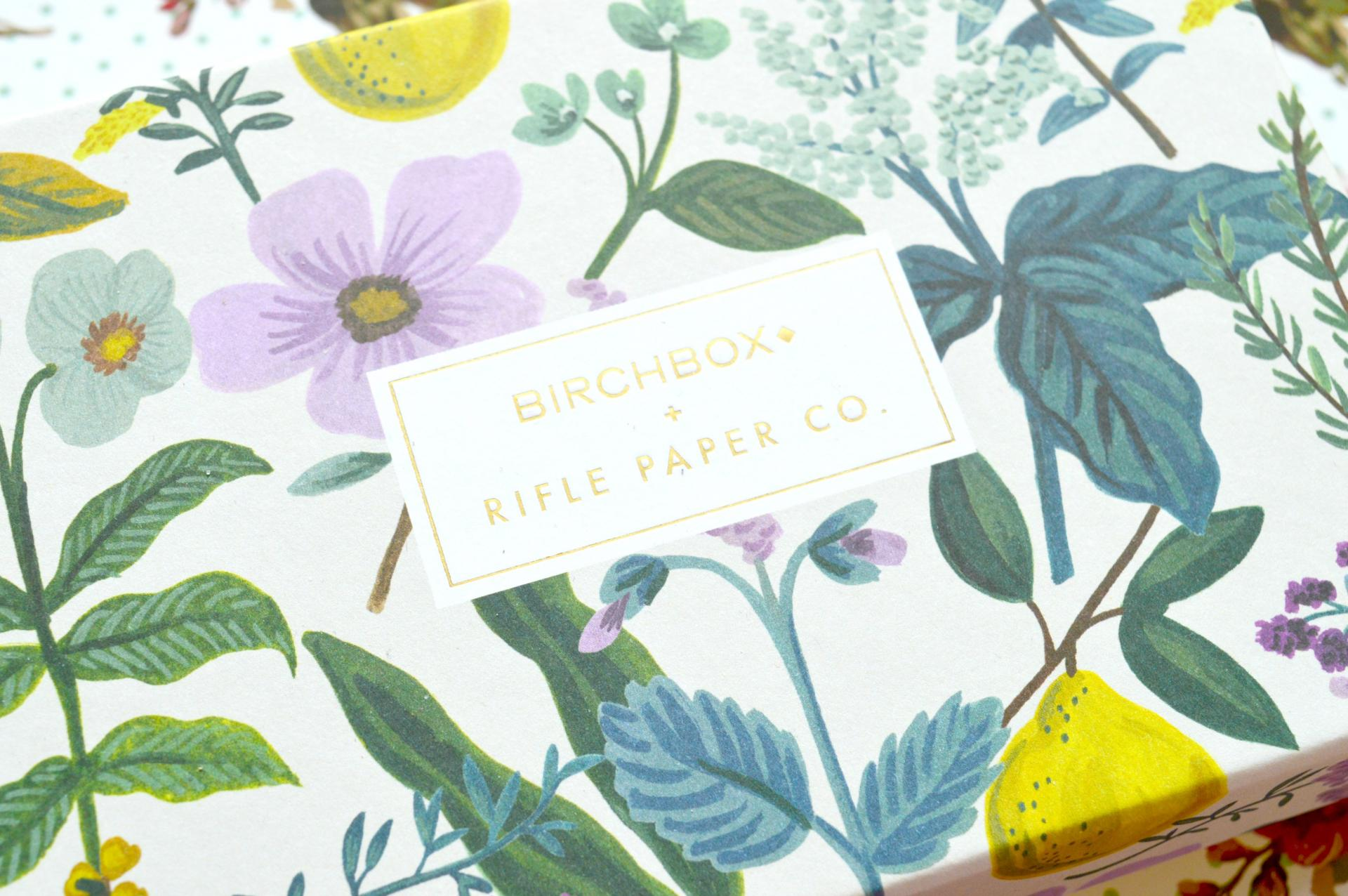 April 2016 Birchbox: Rifle Paper Co.