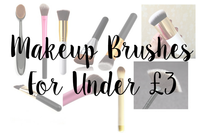 Makeup Brushes For Under £3
