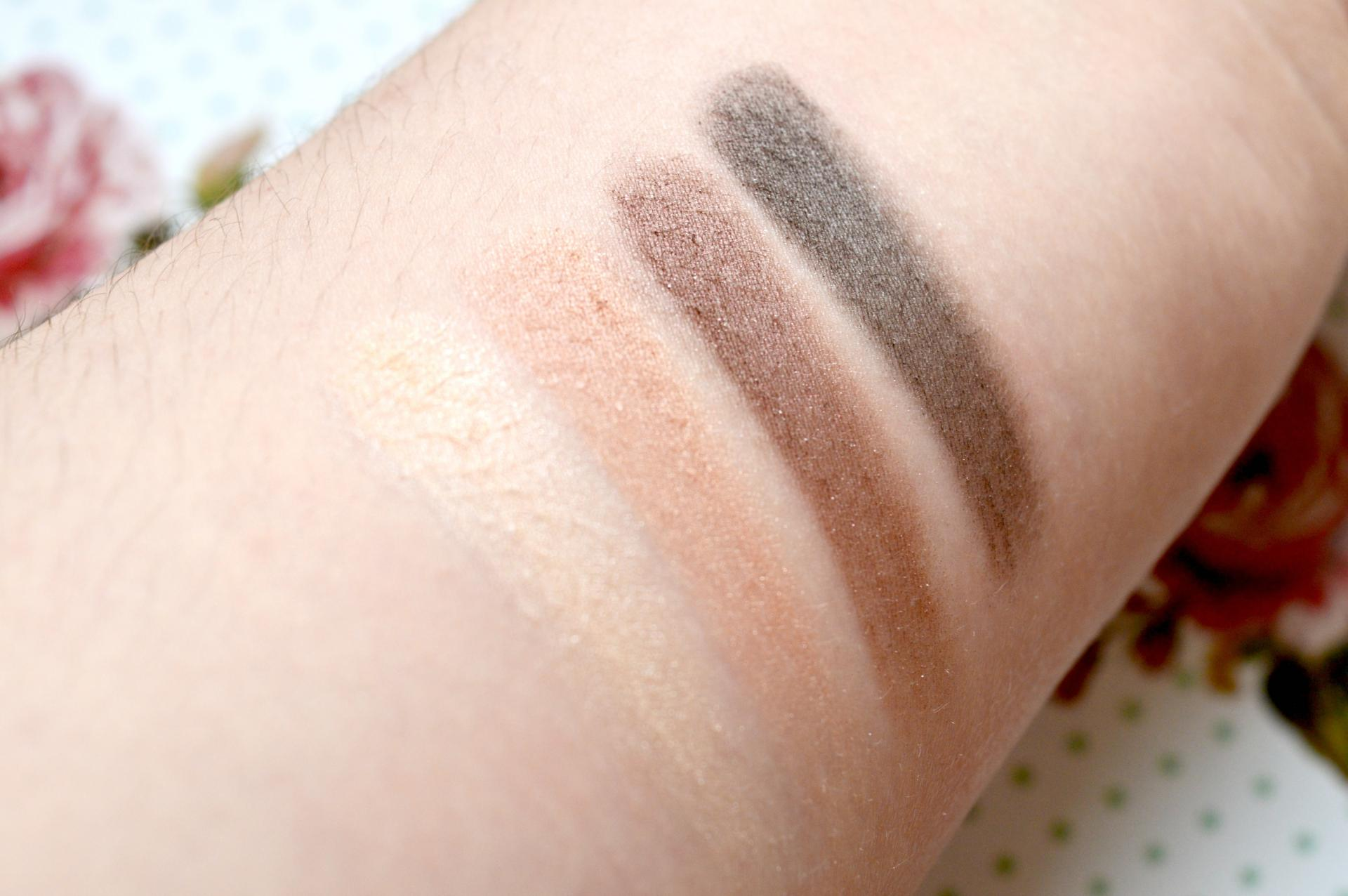 NYC Eyeshadow Quad in Best Of Broadway Swatches