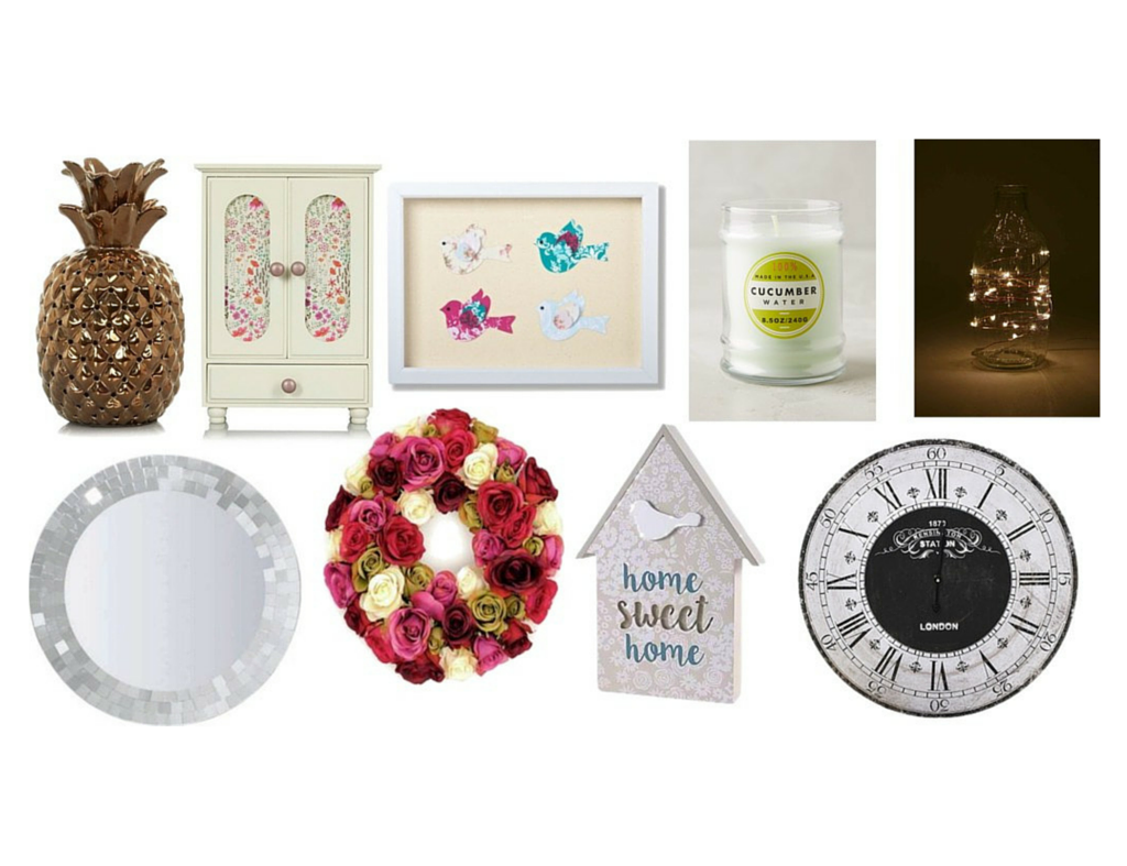 Pretty home decor homeware wishlist may 2016 for Homewares decorative items
