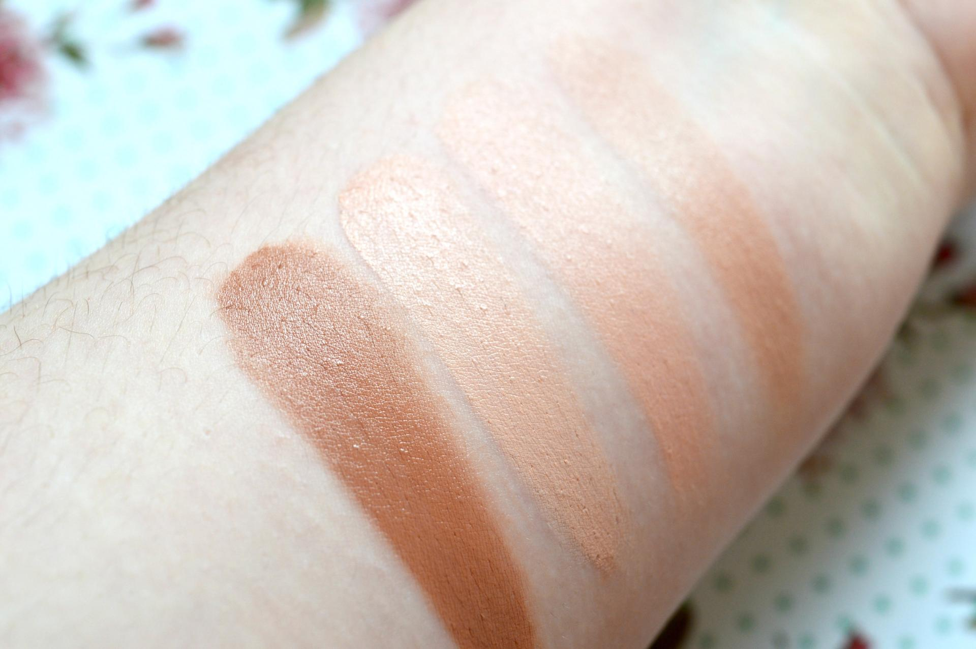 Technic Colour Fix Cream Contour Palette Swatches