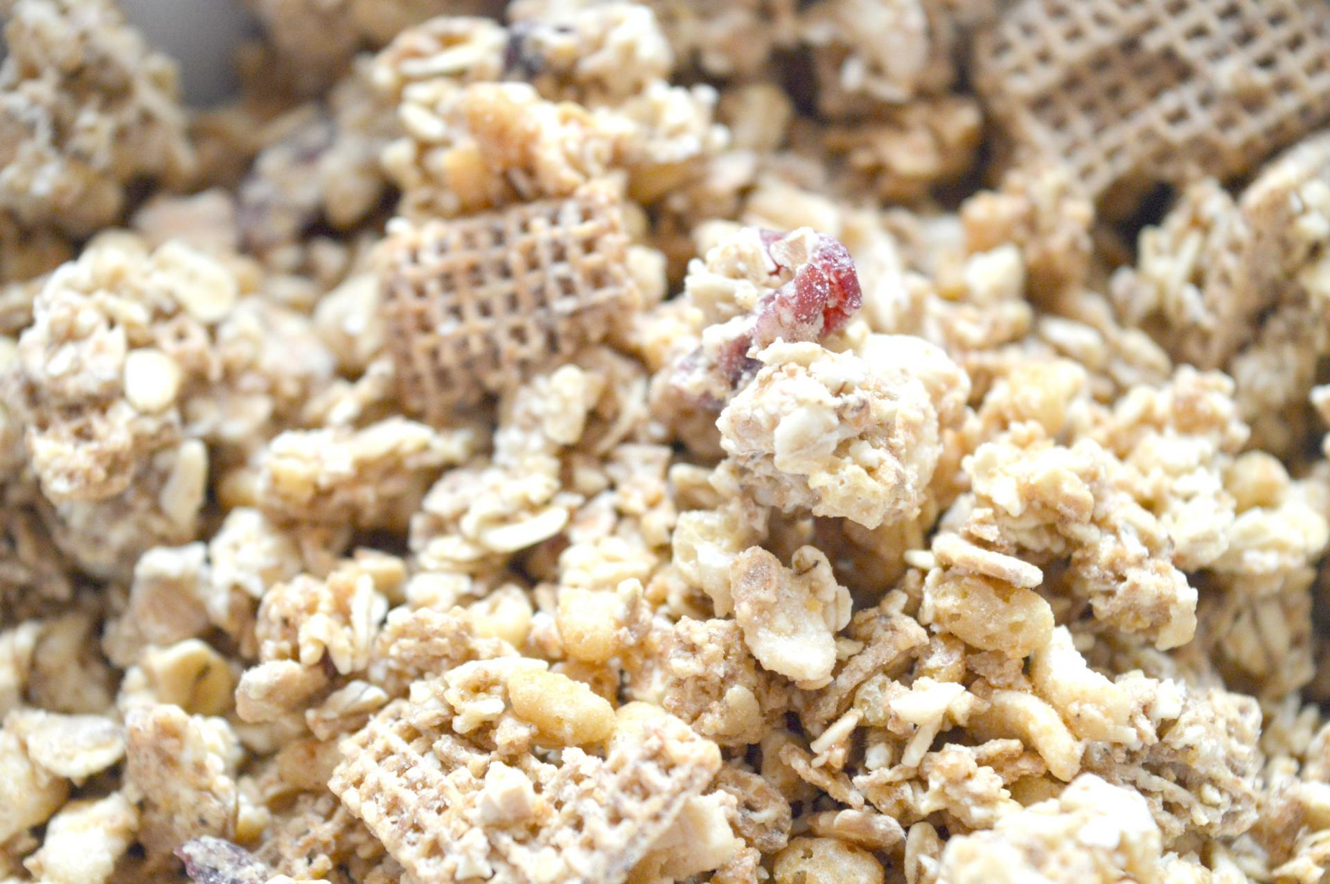 Shreddies Max Protein Crunchy Cranberry and Oat Granola With Shreddies Pieces