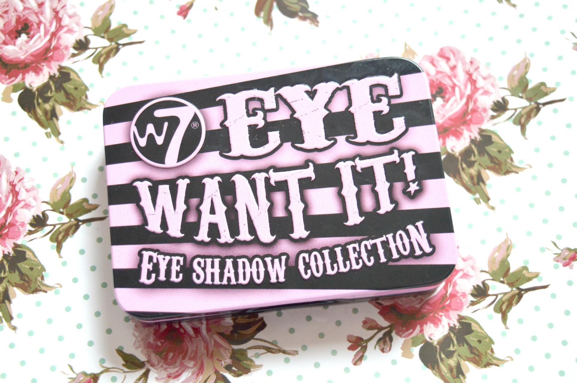 W7 Eye Want It Eyeshadow Collection Review