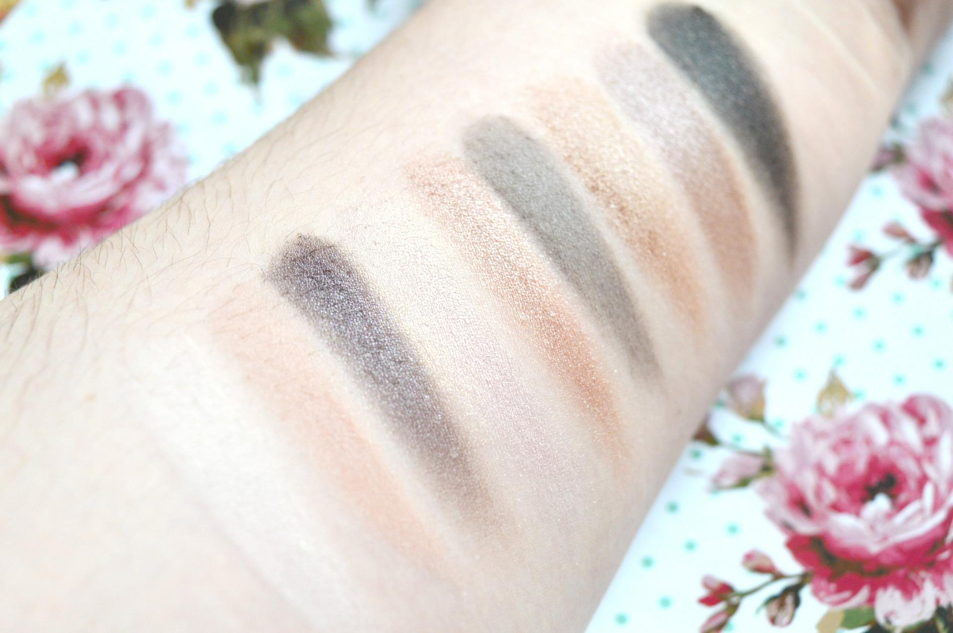 W7 Eye Want It Eyeshadow Collection Swatches