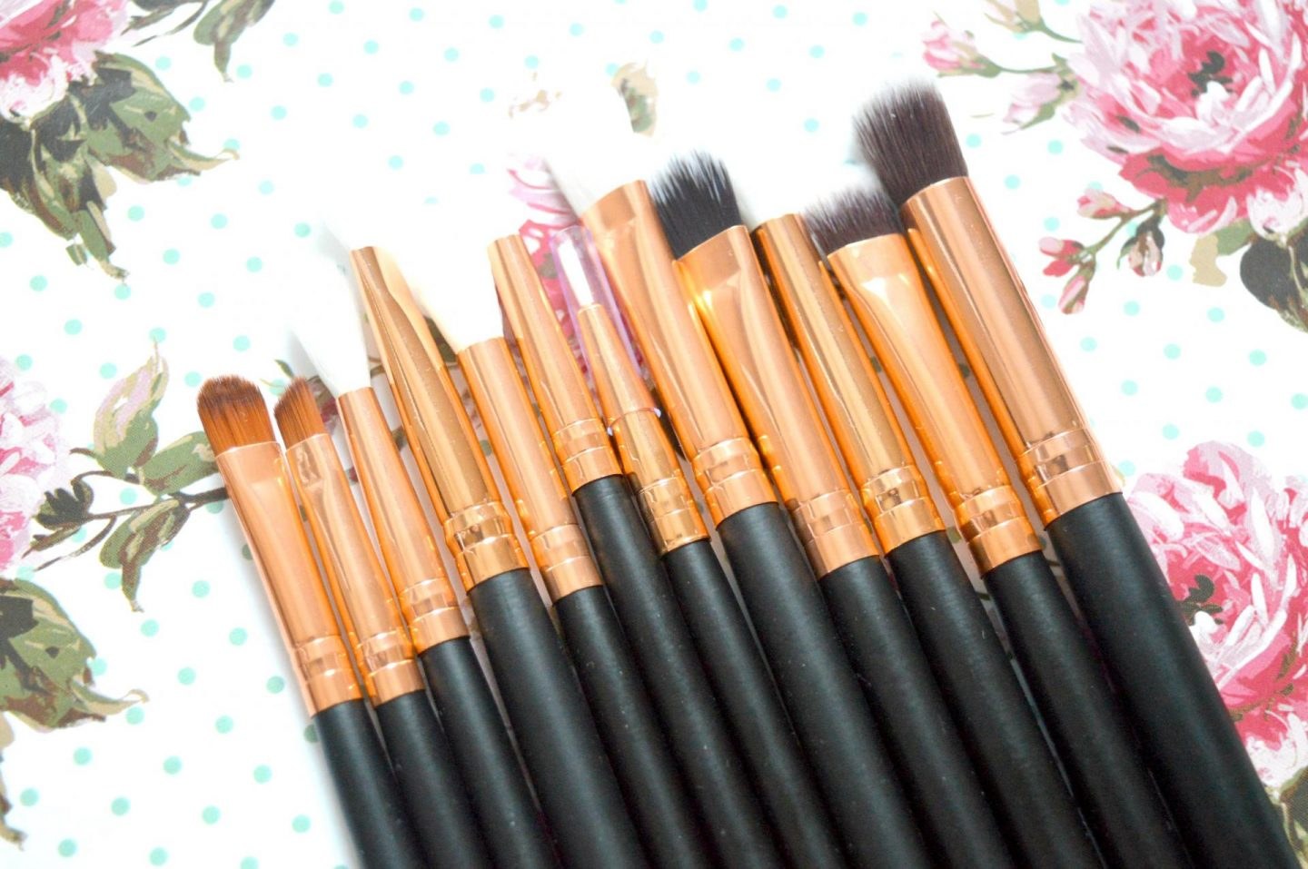 The 12 Piece Professional Makeup Brush Set That Cost Me Just £3.00