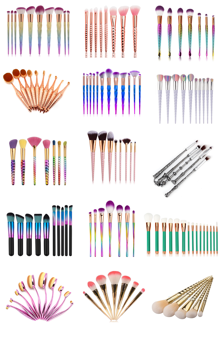 15 Gorgeous Makeup Brush Sets That Are Under £10