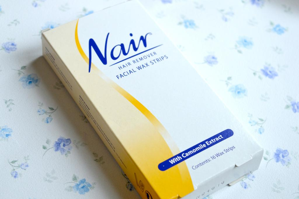 Review Nair Hair Remover Facial Wax Strips The Worst Product I