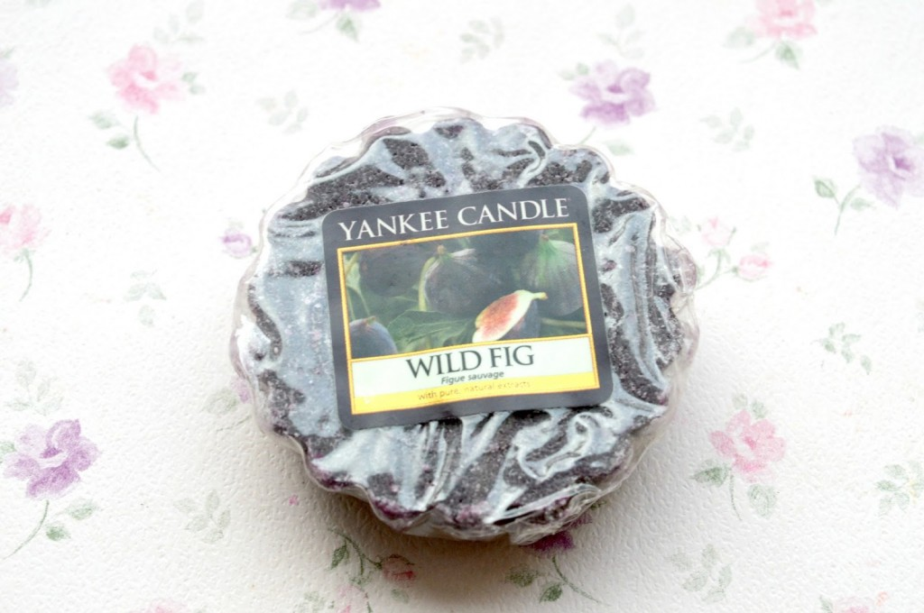 Review | Yankee Candle Wild Fig Wax Tart