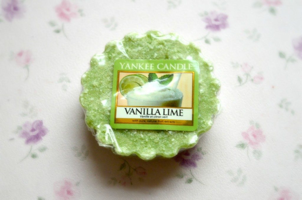 Review | Yankee Candle Vanilla Lime Wax Tart