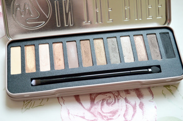 Urban Decay Naked 2 Palette Dupe - W7 In The Buff Natural Nudes Eye Colour Palette