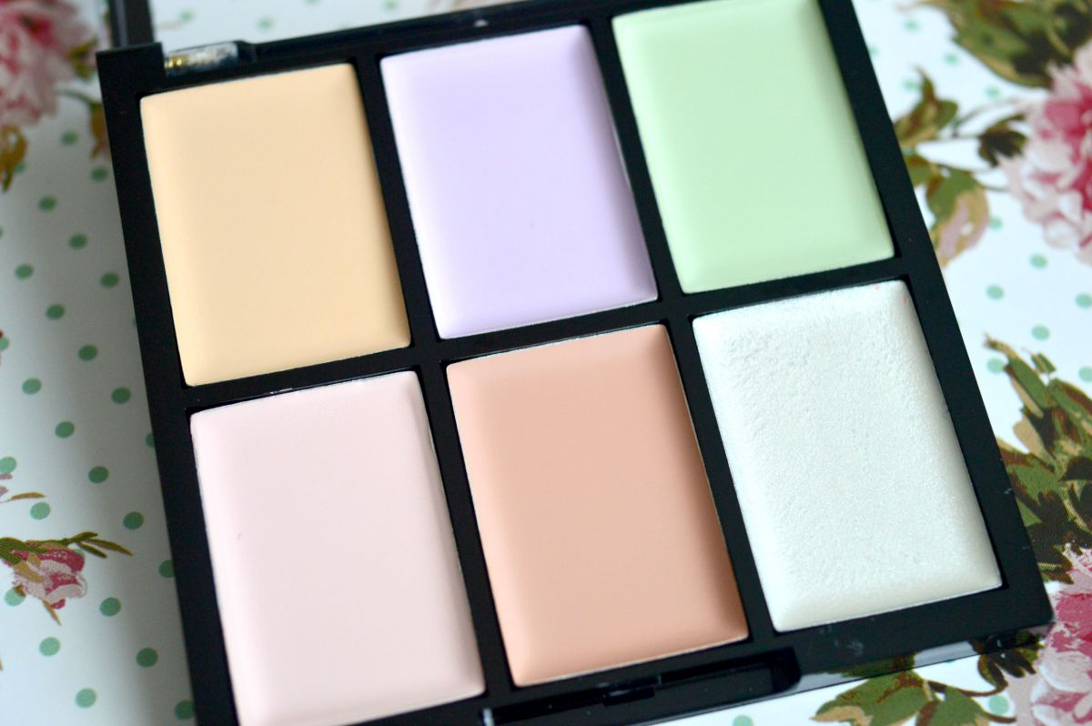 freedom makeup concealer pro correct palette review. Black Bedroom Furniture Sets. Home Design Ideas
