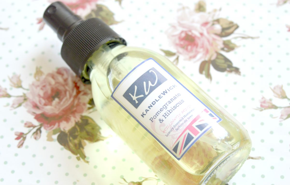KandleWick Pomegranate and Hibiscus Room Spray Review