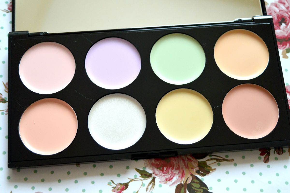 makeup revolution ultra base corrector palette review. Black Bedroom Furniture Sets. Home Design Ideas