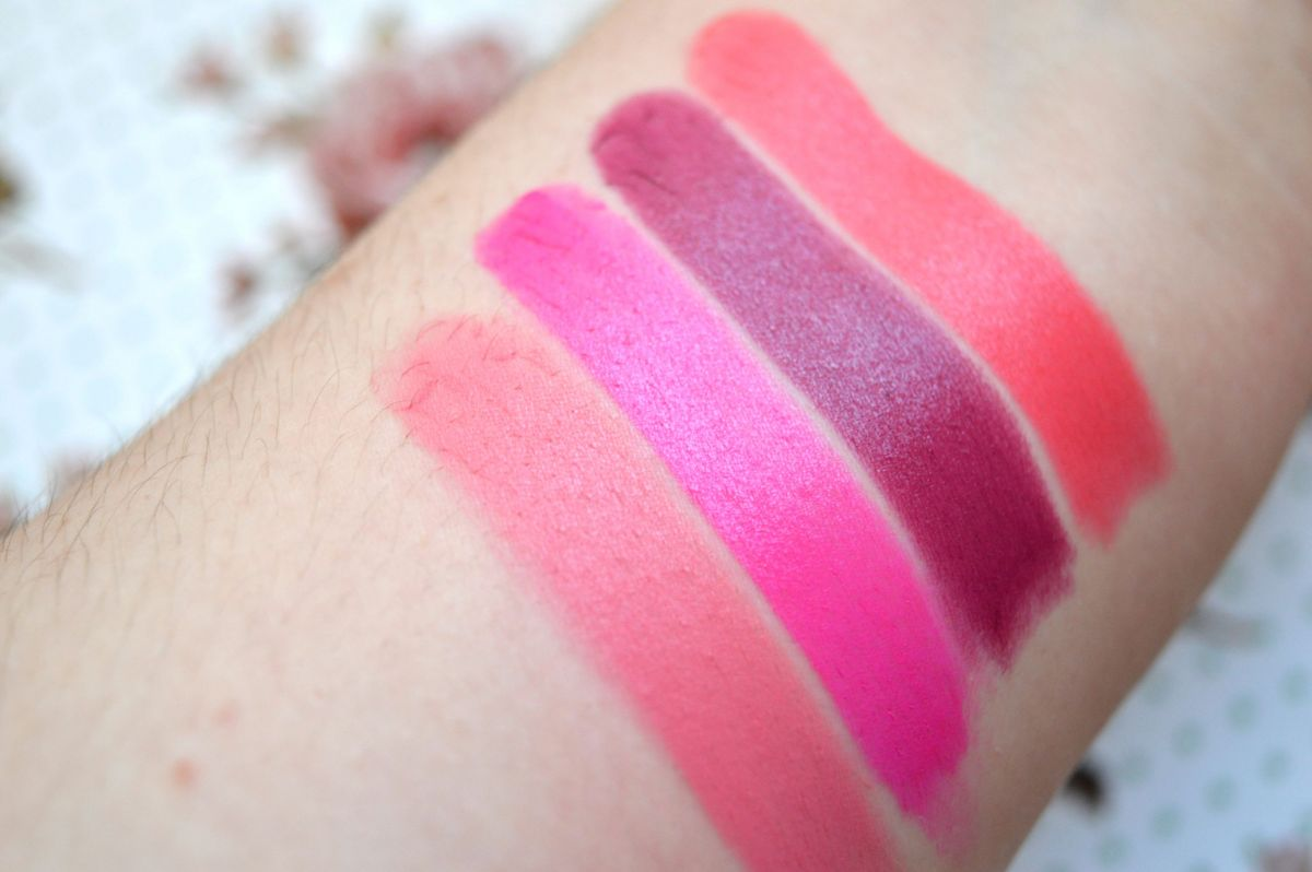 Product Rave: Technic Colourmax Lipsticks Swatches
