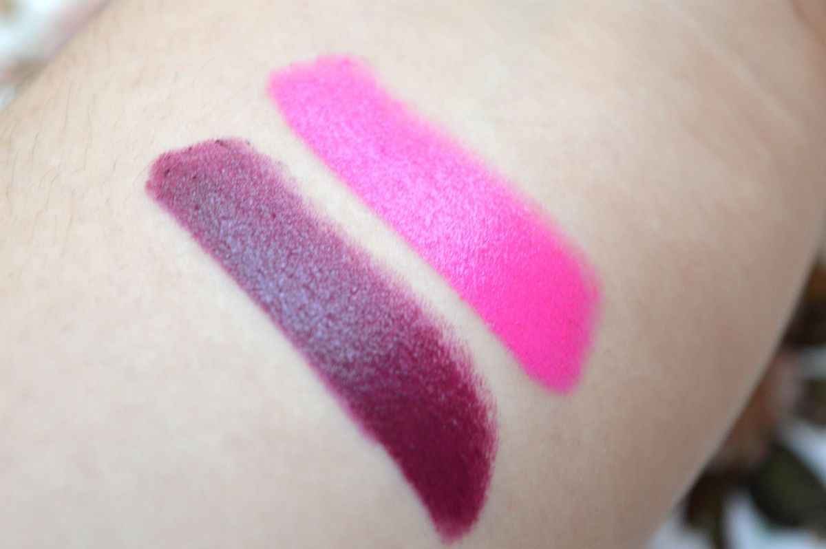 Product Rave: Technic Juicy Stick Lip Glosses Tropical and Plum Swatches