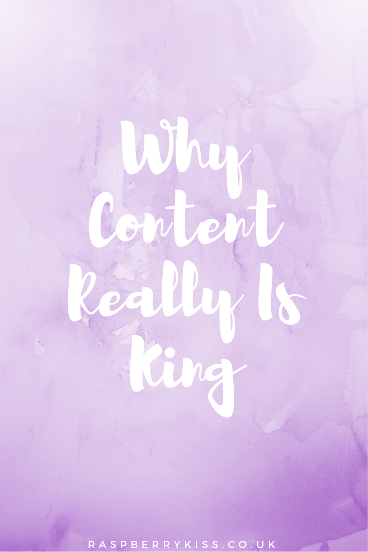 Why Content Really Is King