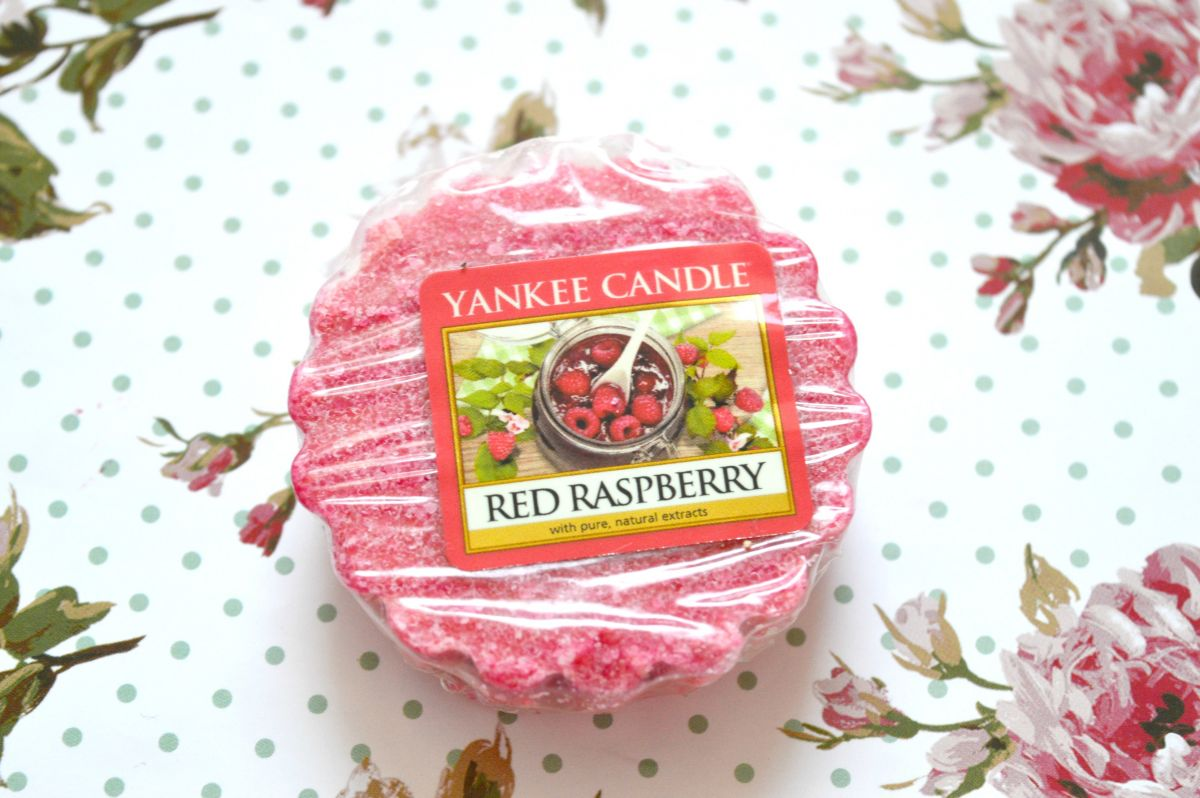 Yankee Candle Red Raspberry Wax Tart Review