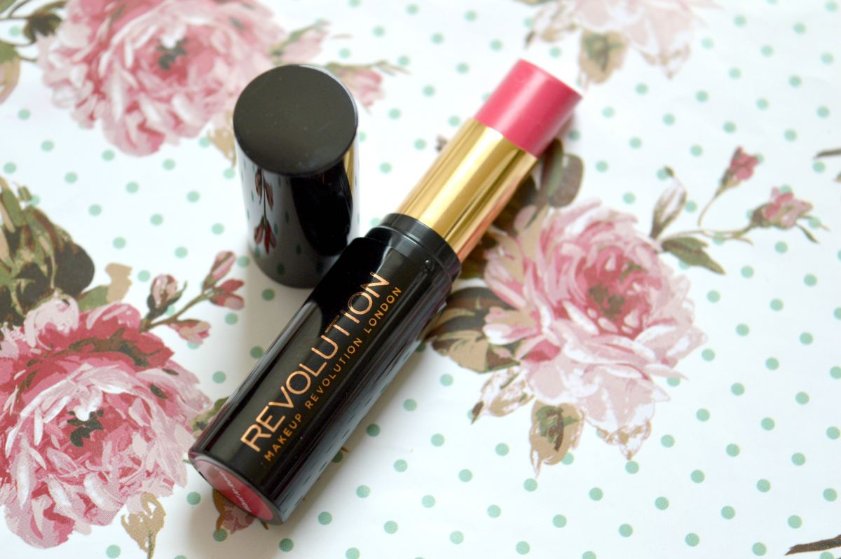 Makeup Revolution Liphug Lipstick in Want To Leave?