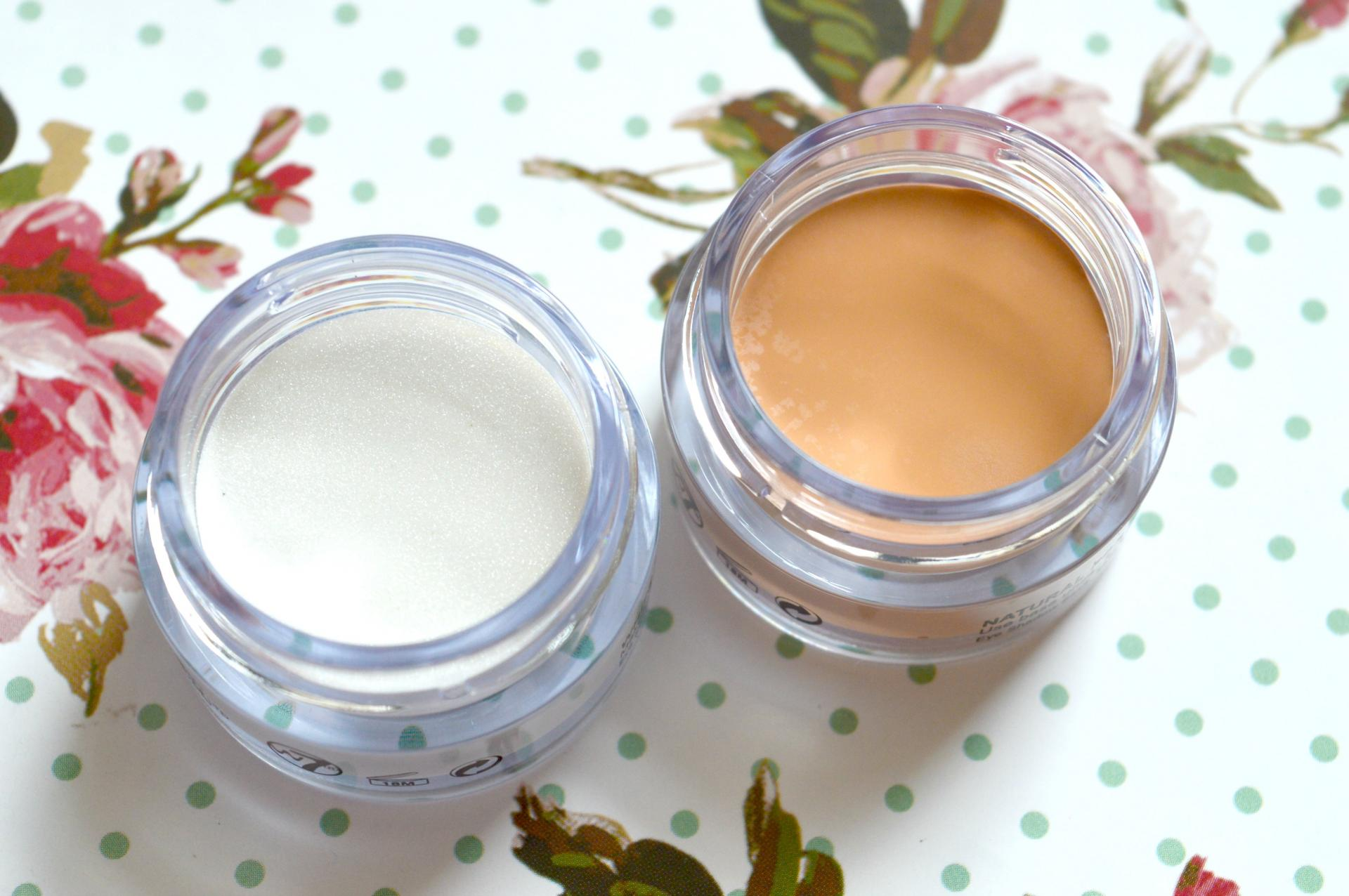 W7 Get Set Eye Shadow Bases in White Pearl and Natural