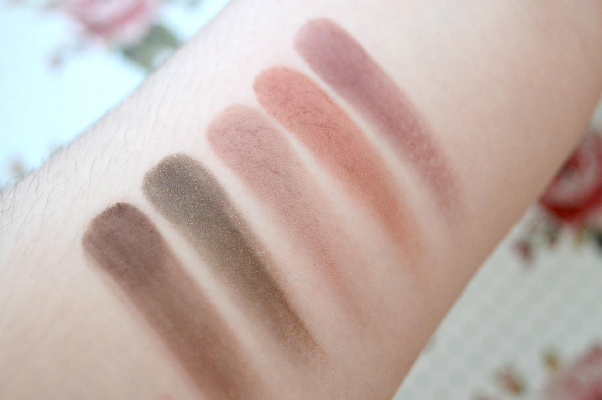 MAC Burgundy Times Nine Dupe | W7 The Naughty Nine Mid Summer Nights Palette Swatches
