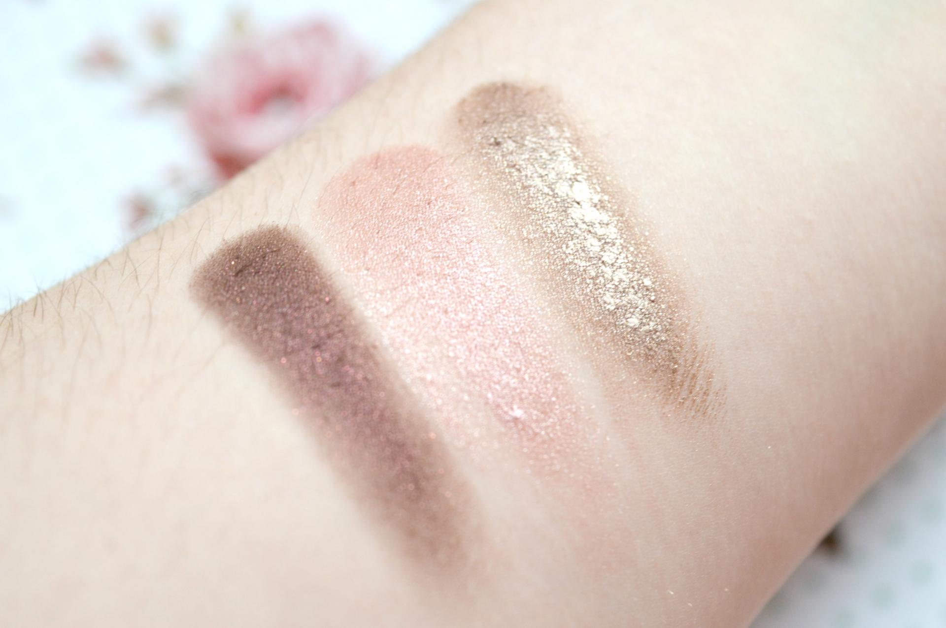 3 Excellent Cream Eyeshadows Worth Checking Out | Bourjois 24H Color Edition Cream to Powder Eyeshadow in Prune Nocturne, Maybelline Color Tattoo in Pink Gold and Maybelline Color Tattoo in On and On Bronze Swatches