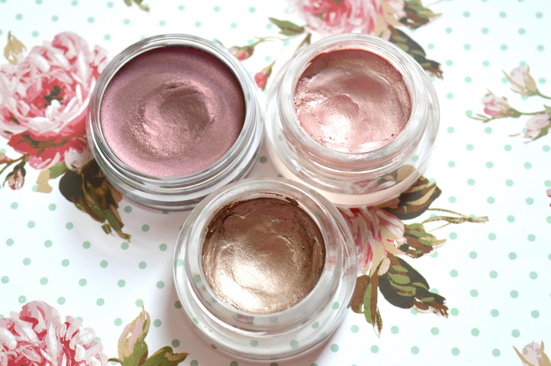 3 Excellent Cream Eyeshadows Worth Checking Out | Bourjois 24H Color Edition Cream to Powder Eyeshadow in Prune Nocturne, Maybelline Color Tattoo in Pink Gold and Maybelline Color Tattoo in On and On Bronze