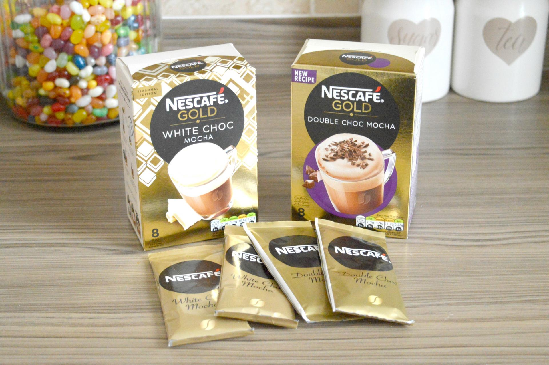 The Best At Home Coffee? Nescafe Gold Frothy Coffee - Nescafe Gold White Choc Mocha and Nescafe Gold Double Choc Mocha