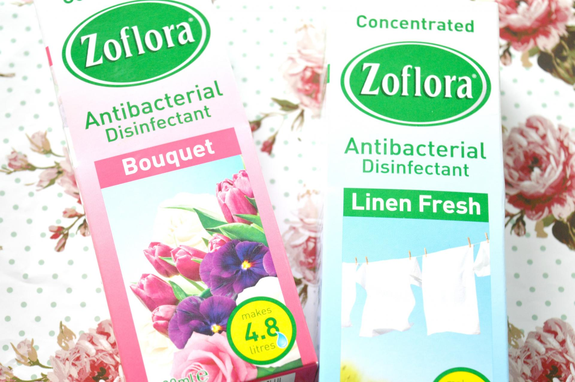 2 Excellent Zoflora Fragrances You Need To Try: Bouquet and Linen Fresh