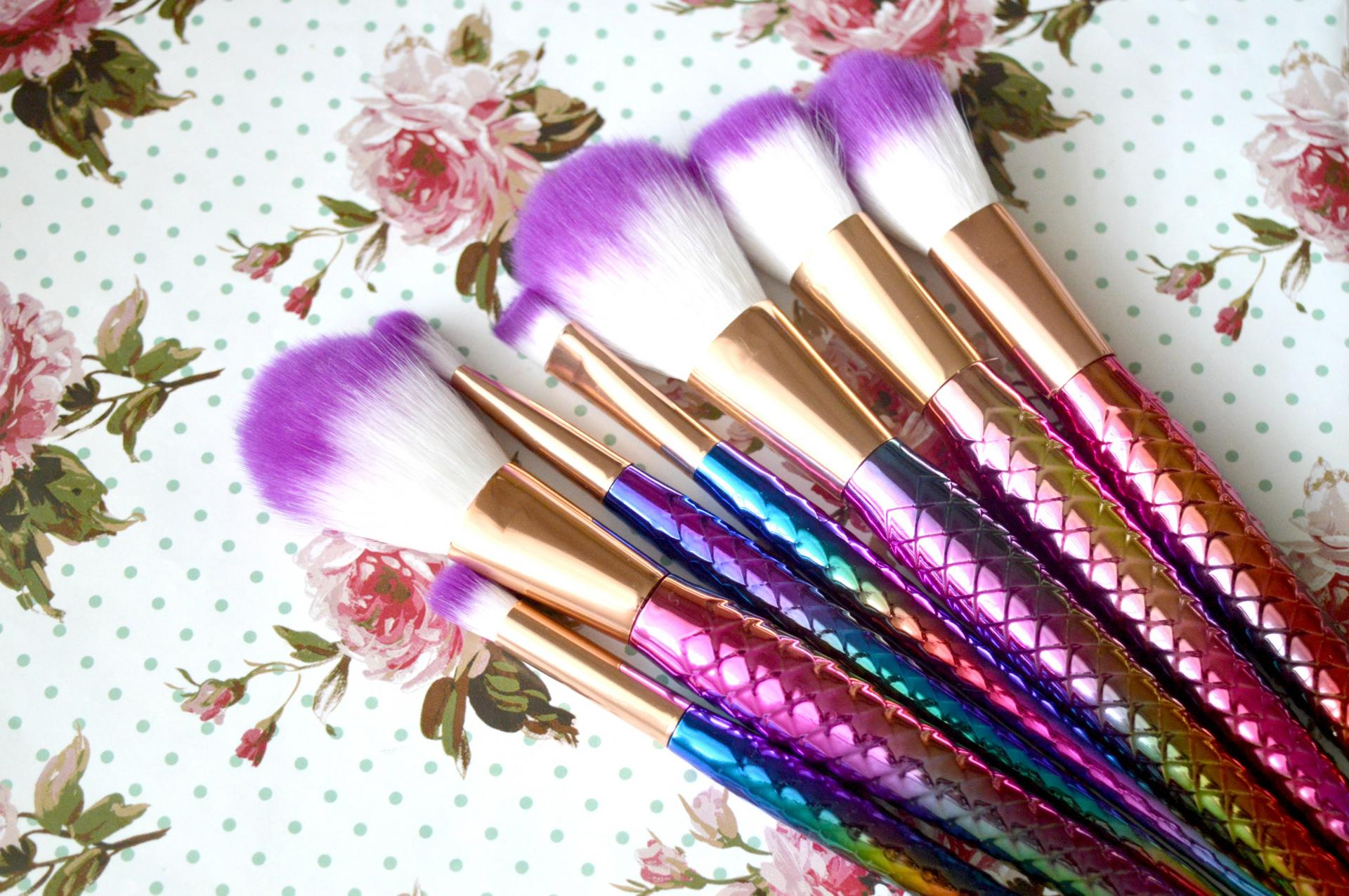 The Most Beautiful Affordable Mermaid Makeup Brushes