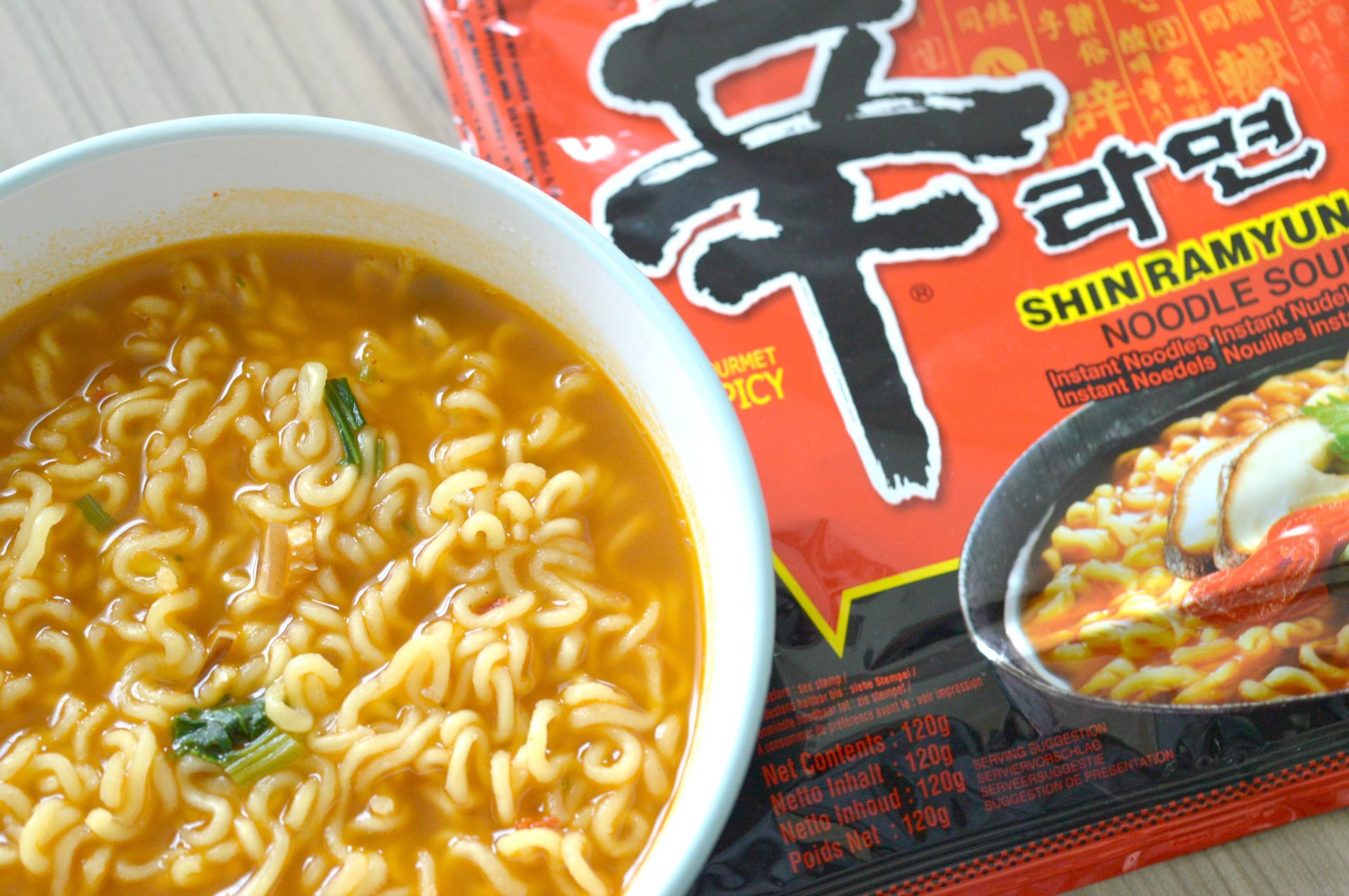Shin Ramyun, The Best Spicy Instant Noodles?