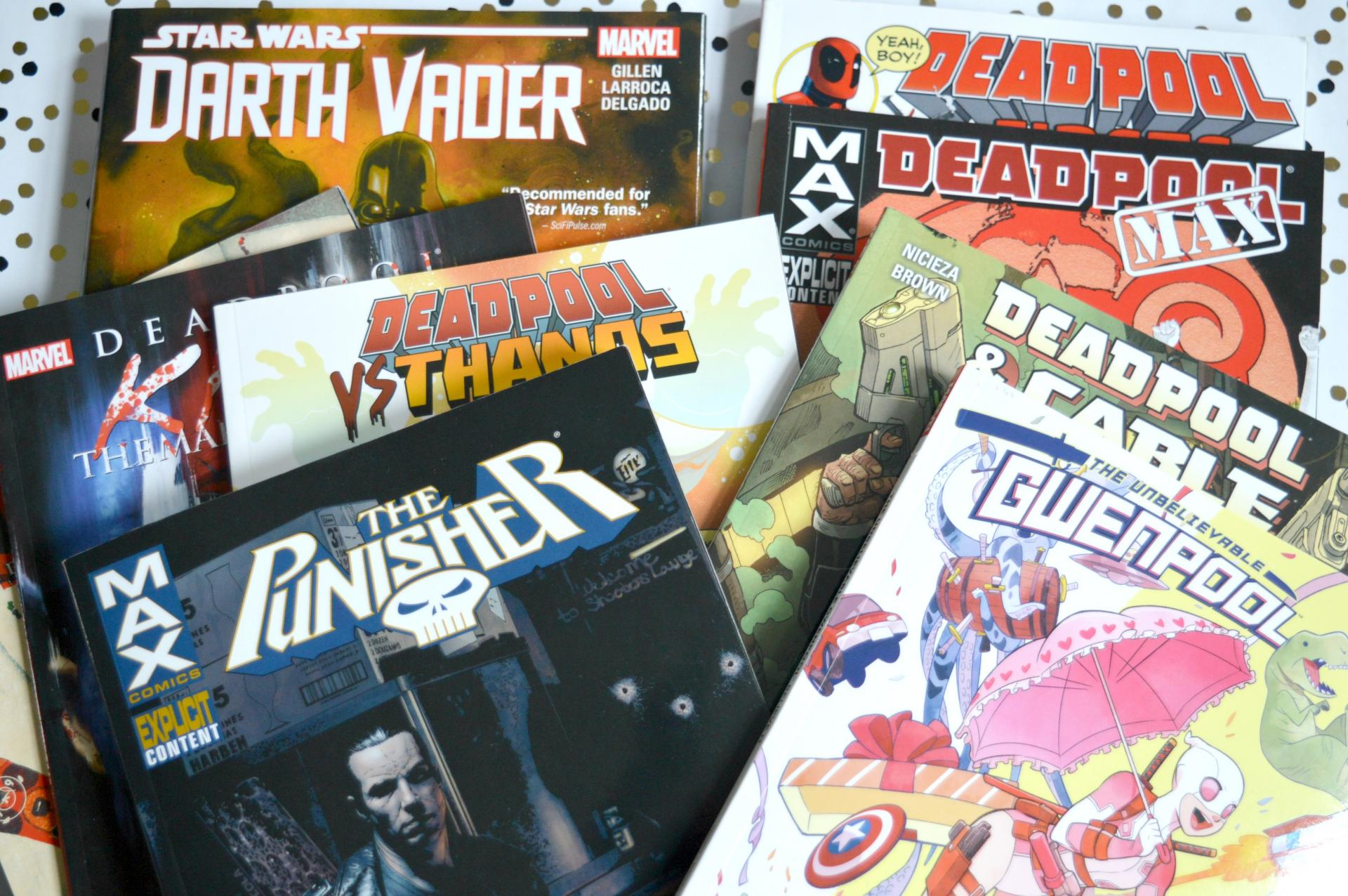How To Get Your Hands On Affordable Comics In The UK - Deadpool, The Punisher, Gwenpool, Darth Vader and More