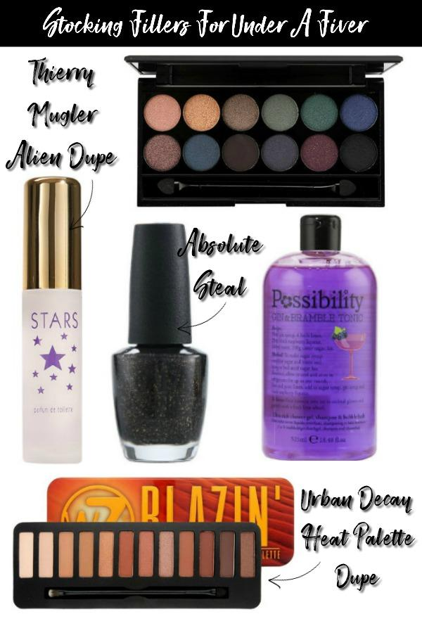 5 Bargain Beauty Stocking Fillers For Under A Fiver