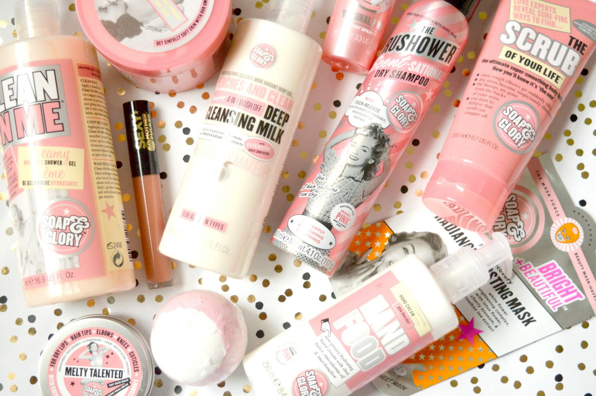 Soap and Glory Bubble Act Gift Set
